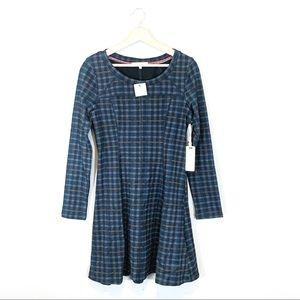 Altar'd State | Long Sleeve Plaid Mini Dress Small